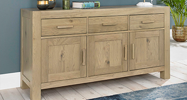 3 Door 3 Drawer Sideboards