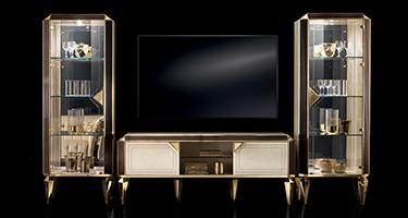 Adora Diamante Living Room