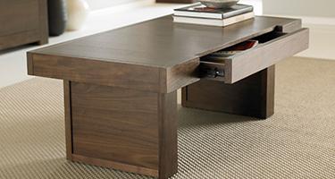 Bentley Designs Akita Walnut Living Room