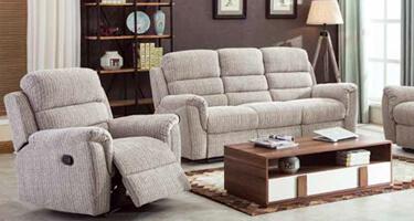 Annaghmore Dartford Fabric Recliner Sofas