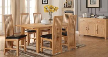 Annaghmore Ellington Oak Dining Room