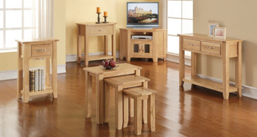 Annaghmore Ellington Oak Living Room