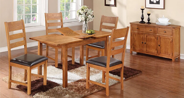 Annaghmore Hartford Country Oak Dining Room