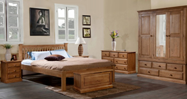 Annaghmore Kingsley Solid Pine Bedroom