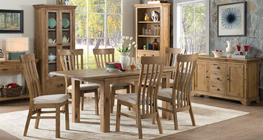 Annaghmore Lyon Solid Oak Dining Room