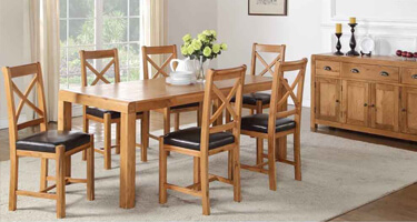 Annaghmore Oakridge Solid Oak Dining Room