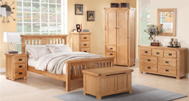 Annaghmore Somerset Solid Oak Bedroom