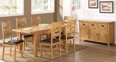 Annaghmore Somerset Solid Oak Dining Room