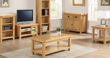 Annaghmore Somerset Solid Oak Living Room