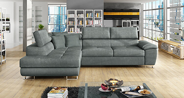 Aston Fabric and Leather Sofas
