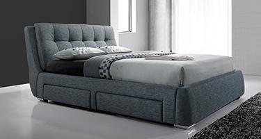 Artisan Fabric Drawer Beds