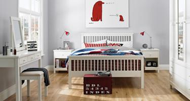 Bentley Designs Atlanta White Bedroom