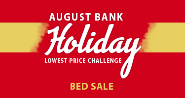 August Bank Holiday Bed Sale
