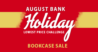 August Bank Holiday Bookcase Sale