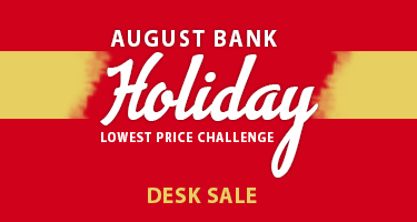 August Bank Holiday Desk Sale