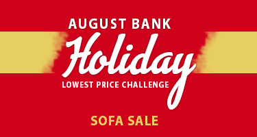 August Bank Holiday Sofa Sale