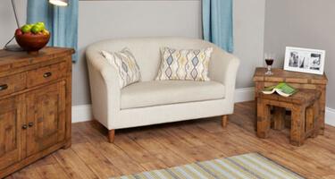 Baumhaus Heyford Rough Sawn Oak Living Room