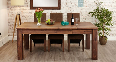 Baumhaus Mayan Walnut Dining Room