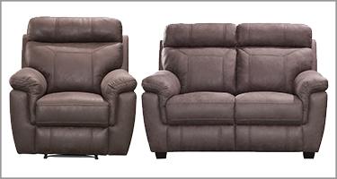Baxter Brown Recliner Sofa