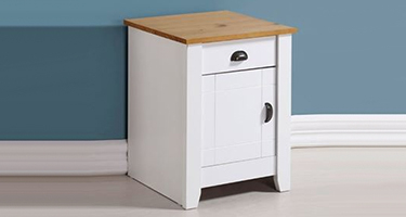 Bedside Cabinet with Doors