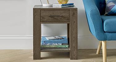 Bedside Cabinet with Shelf