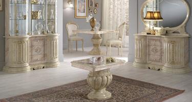 Ben Company Betty Onyx Finish Italian Living Room
