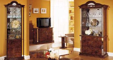 Ben Company Diva Walnut Italian Living Room