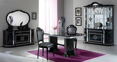 Ben Company New Venus Black and Silver Italian