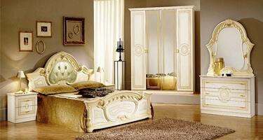 Ben Company Sara Beige Italian Bedroom
