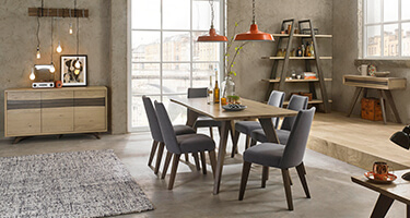 Bentley Designs Cadell Oak Dining