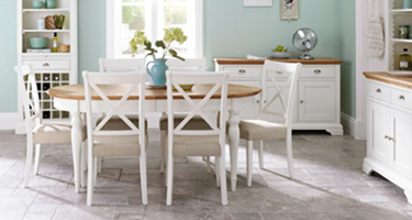 Bentley Designs Hampstead Two Tone Dining