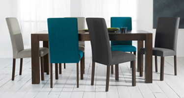 Bentley Designs Parker Oak Dining Chairs