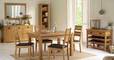 Bentley Designs Provence Oak Dining Room