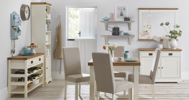 Bentley Designs Provence Two Tone Dining Room