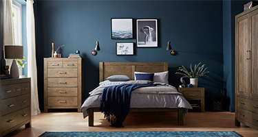 Bentley Designs Turin Dark Oak Bedroom