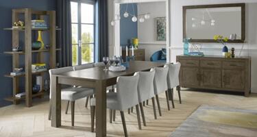 Bentley Designs Turin Dark Oak Dining Room