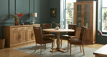 Bentley Designs Westbury Rustic Dining Room