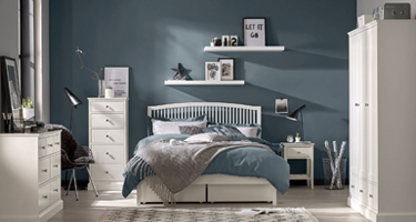 Bentley Designs Ashby White Bedroom