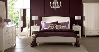Bentley Designs Bordeaux Ivory Bedroom