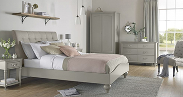 Bentley Designs Montreux Urban Grey Bedroom