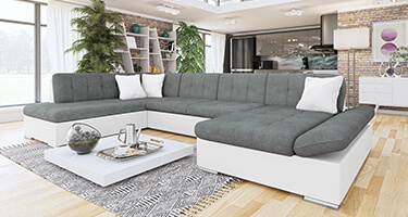 Belgravia Fabric and Leather Sofas
