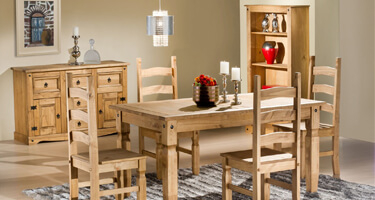 Birlea Furniture Corona Pine Dining Room