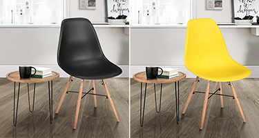 Birlea Furniture Hex Dining Chairs