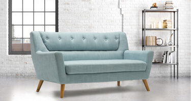 Birlea Furniture Lambeth Fabric Sofas