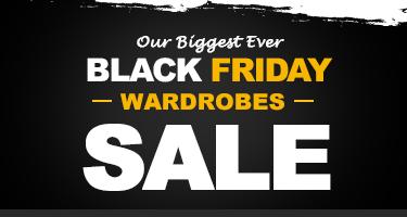 Black Friday Wardrobes Sale