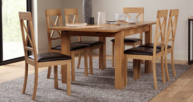 Besp Oak Vancouver Select Dining Room