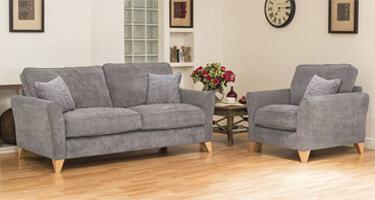 Buoyant Fairfield Fabric Sofas