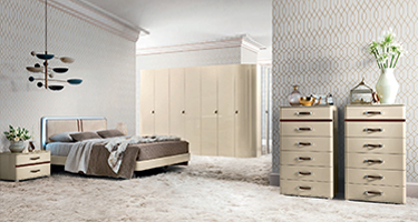 Camel Group Altea Ivory Finish Bedroom