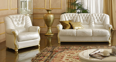 Camel Group Leonardo Leather Sofas