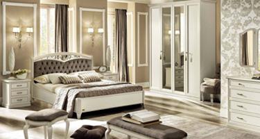 Camel Group Nostalgia Bianco Antico Italian Bedroom
